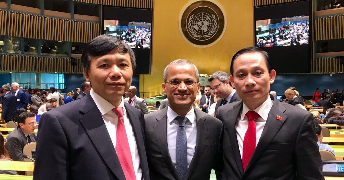Đại sứ Singapore tại Liên Hiệp Quốc chúc mừng Việt Nam đắc cử Hội đồng Bảo an