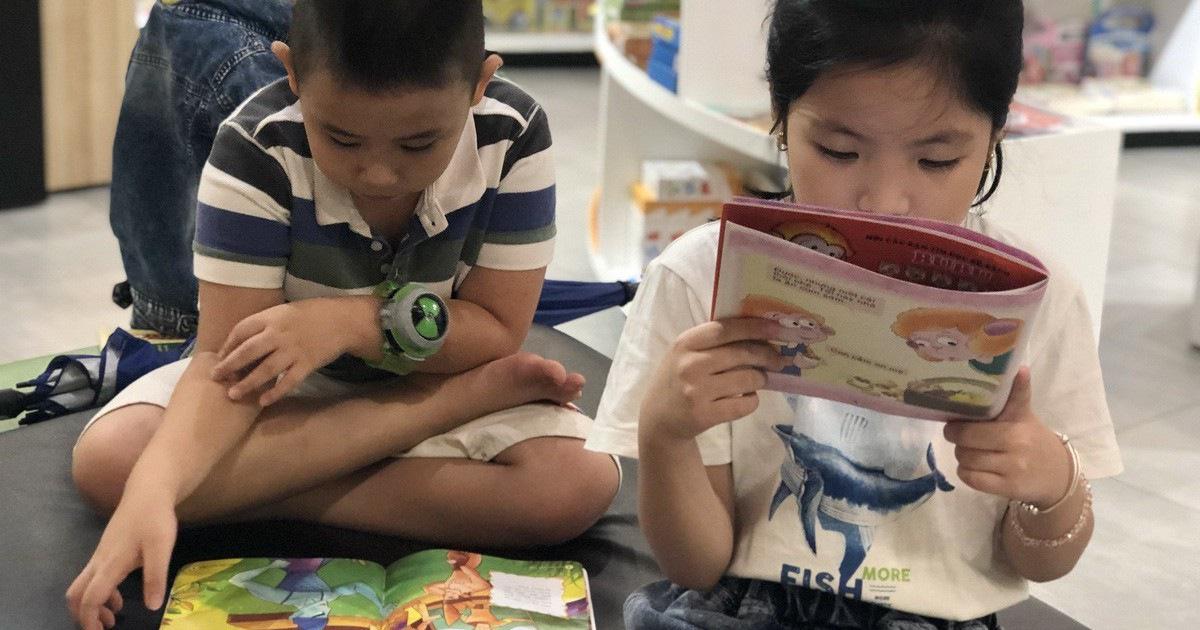 Đọc sách, đời con sẽ hạnh phúc
