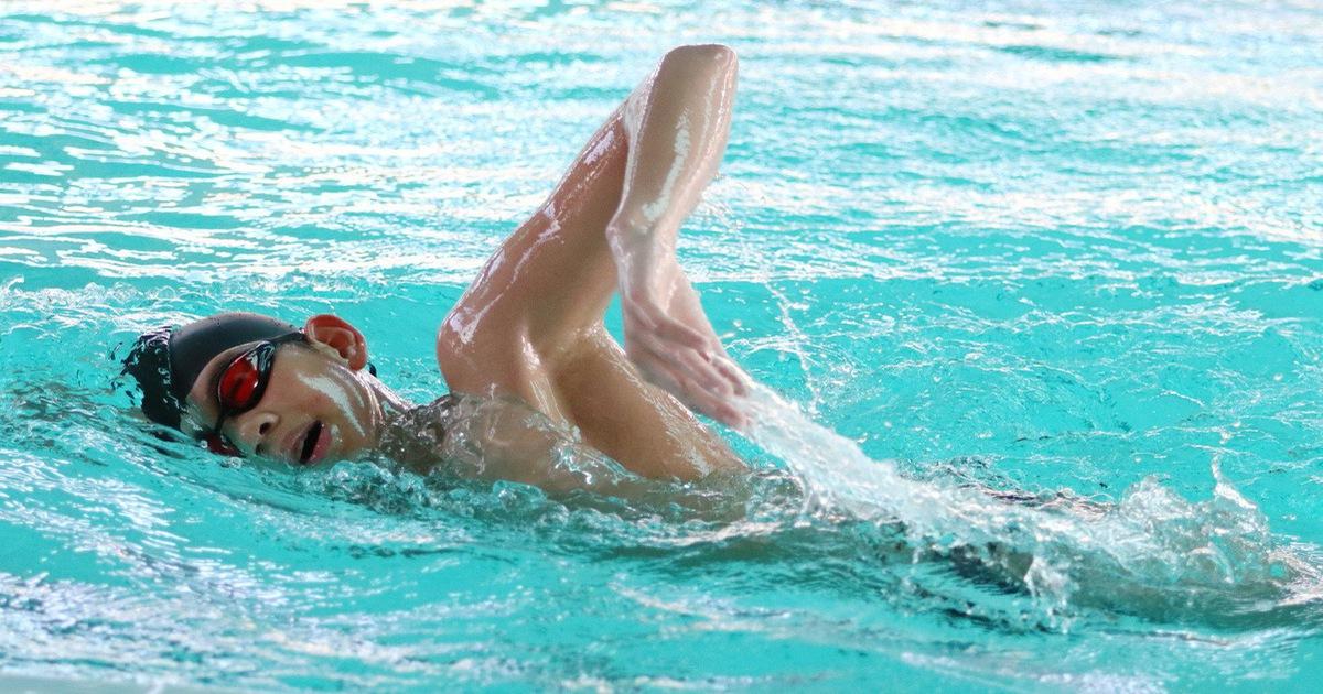 Em ruột Ánh Viên phá kỷ lục trẻ quốc gia - bơi