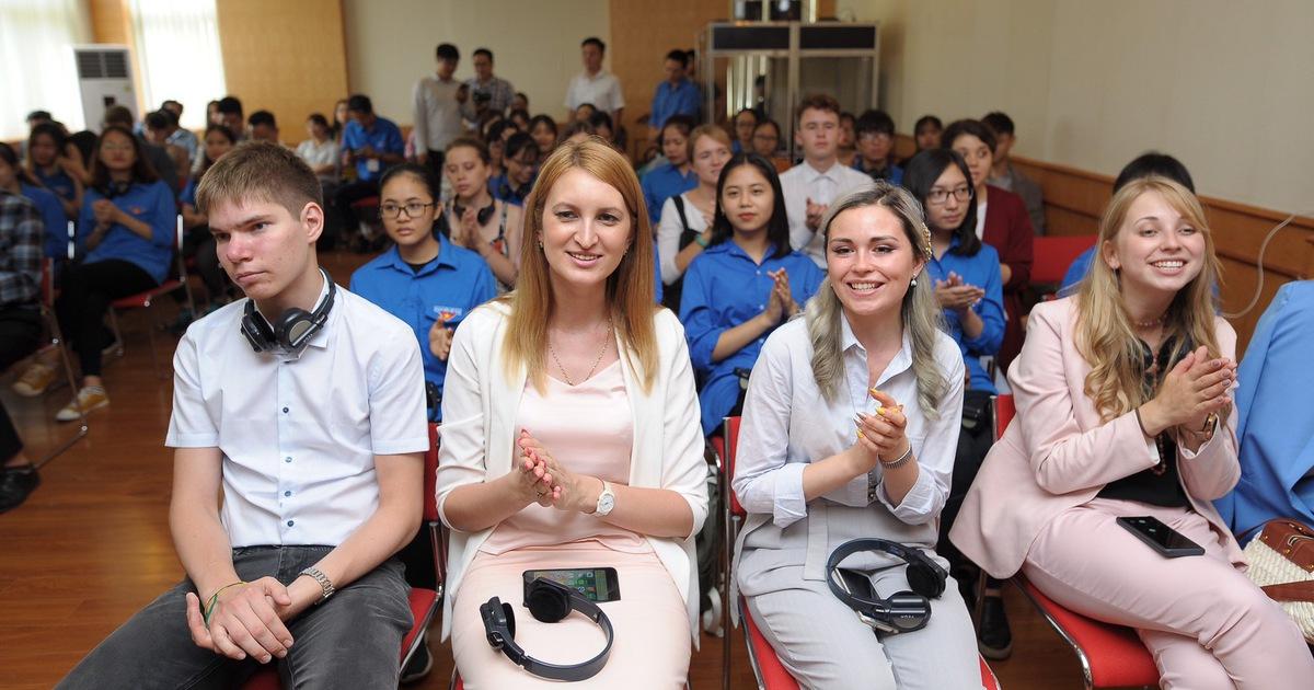 В Ханое открылся первый в истории вьетнамско-российский молодежный форум