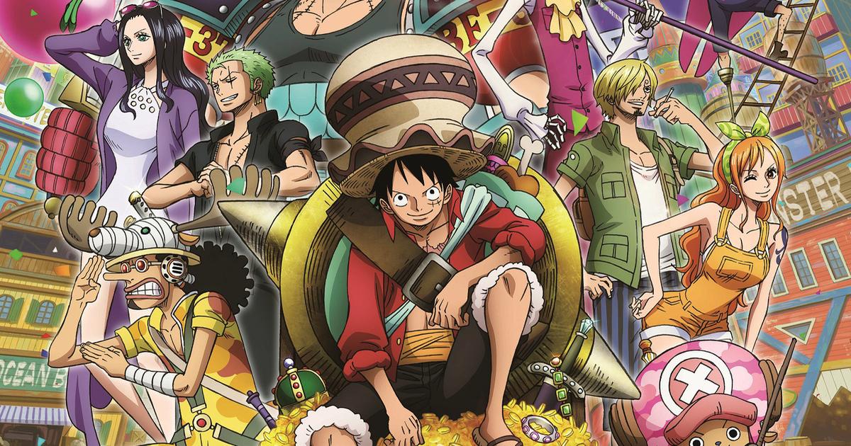 One Piece: Stampede phá kỷ lục phòng vé Nhật