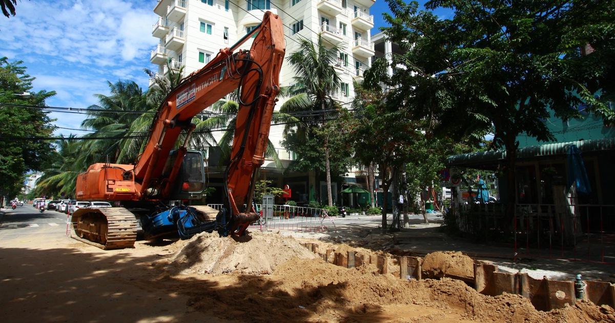 Chi gần 1.500 tỉ đồng giải quyết cảnh nước thải tràn ra bãi biển
