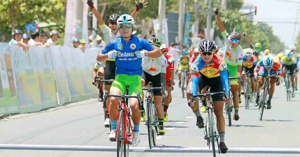 16 cua-rơ không về đích ở chặng 2 Cuộc đua xe đạp ĐBSCL 2019