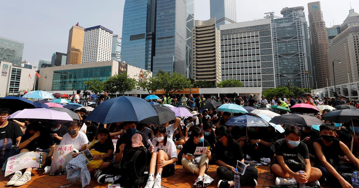 Sinh viên Hong Kong bãi khóa đầu học kỳ mới