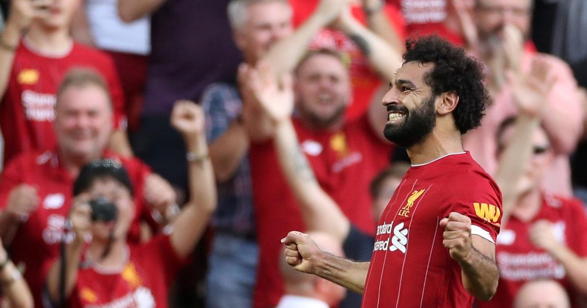 Salah tỏa sáng, Liverpool đè bẹp Arsenal tại Anfield
