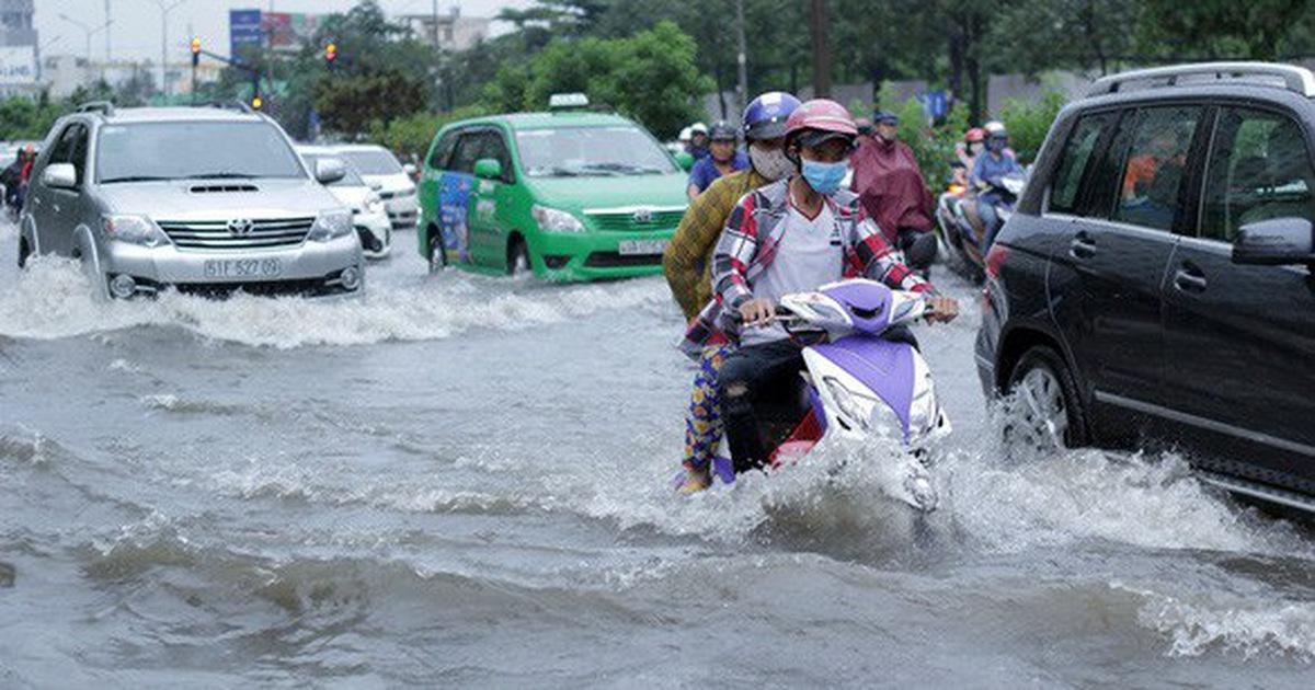 Lùi ngày khởi công dự án chống ngập đường Nguyễn Hữu Cảnh