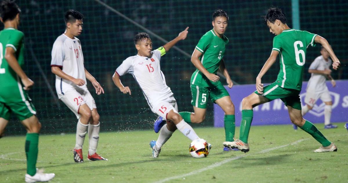 Thắng Macau 6-0, U16 Việt Nam hơn Úc 10 bàn trước trận 'quyết chiến'