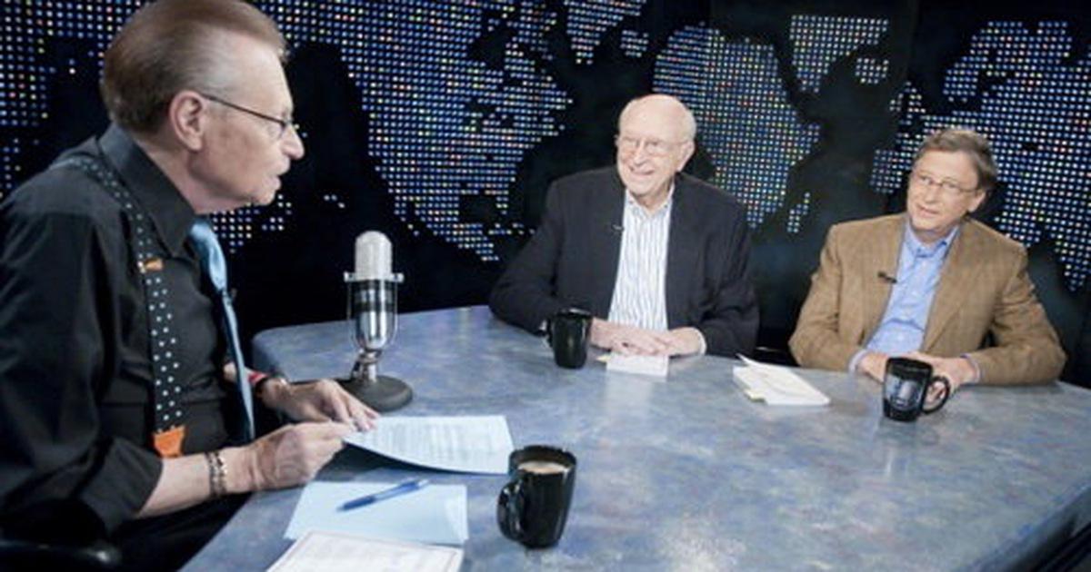Larry King và Bill Gates: Cuộc trò chuyện giữa hai