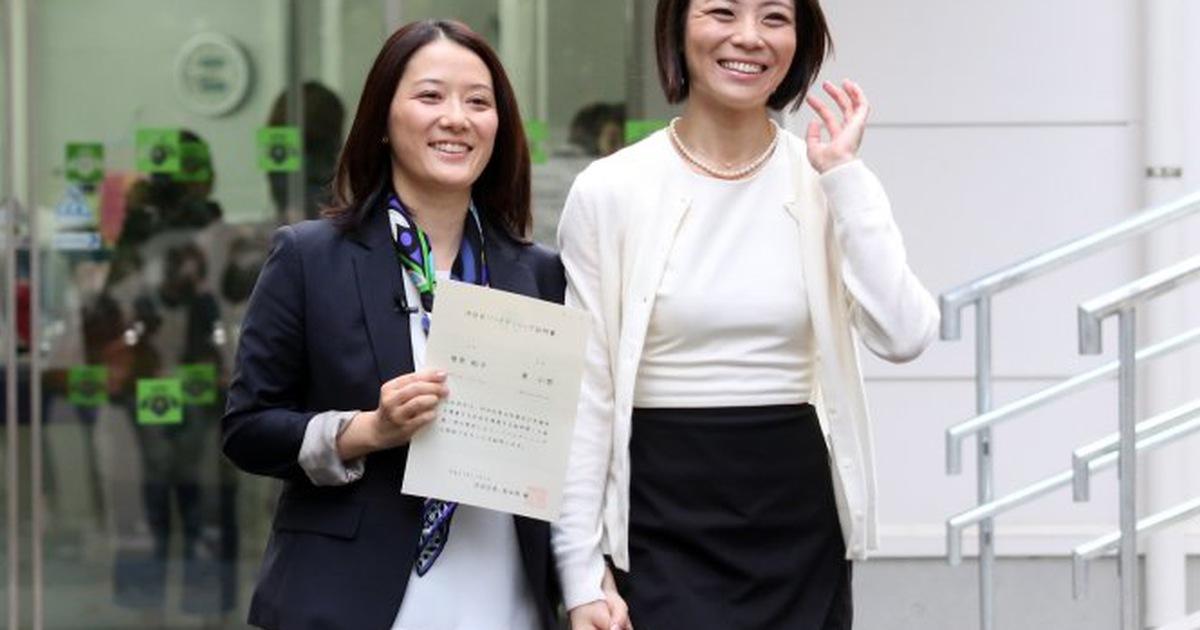 Thêm một thành phố của Nhật chấp nhận hôn nhân đồng tính