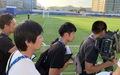Phóng viên Nhật đổ tới buổi tập của đội tuyển Việt Nam