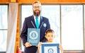 Lập kỷ lục Guinness nhờ sở hữu 158 huy chương võ thuật khi mới 7 tuổi