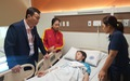 Kiệt sức sau trận đấu với Thái Lan, Hồng Nhung phải đi cấp cứu