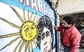 Maradona khiến 'mặt trời rơi lệ' qua tài năng của nghệ sĩ graffiti nổi tiếng