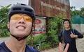 Xuân Trường tự tạo thử thách, đạp xe hơn trăm cây số từ Hà Nội về quê