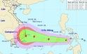 Áp thấp nhiệt đới tiến gần biển Đông, sắp thành bão