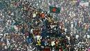Những chuyến tàu nhồi nhét rợn người ở Bangladesh