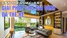 Căn hộ Dual-key: Giải pháp cho gia đình đa thế hệ