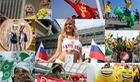 World Cup 2018: Cổ động viên chịu chơi hoành tráng