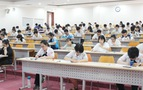 6.201 thí sinh thi kiểm tra năng lực của Trường ĐH Quốc tế