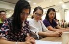 Tuyển sinh lớp 10 tại TP.HCM và Hà Nội: Nhiều điểm mới sát sườn