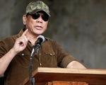 Ông Rodrigo Duterte đề xuất cho mình lãnh đạo cảnh sát quốc gia luôn
