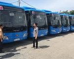 24 xe buýt CNG  thân thiện môi trường bắt đầu chạy ngày 1-12