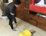 Bắt tạm giam người bố bạo hành con trai 10 tuổi