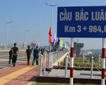 Khánh thành cầu Bắc Luân 2 nối Việt Nam - Trung Quốc