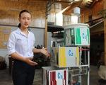 Cô học trò biến nước nhiễm phèn thành nước sạch