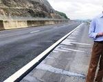 Phát hiện vết dầu loang trên đường cao tốc Đà Nẵng - Quảng Ngãi