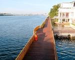 Cầu đi bộ dọc sông Hương: phải đợi thực tế trả lời