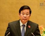 Ông Nguyễn Bắc Son bị xoá tư cách nguyên bộ trưởng Thông tin truyền thông