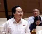 Bộ trưởng Phùng Xuân Nhạ: Kỳ thi nào cũng vi phạm, cũng có vấn đề
