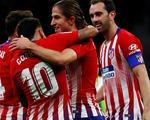 Atletico Madrid soán ngôi đầu của Barca