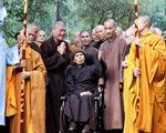 Thiền sư Thích Nhất Hạnh đã về đến tổ đình Từ Hiếu, TP Huế