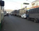 Phà An Hòa bất ngờ hư buồng lái gây kẹt xe hàng giờ