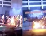 Nữ sinh viên bốc cháy do bất cẩn khi chơi lễ hội Halloween