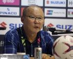 HLV Park Hang Seo: 'Tôi không hài lòng cách điều hành của trọng tài'