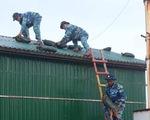 Quân và dân Trường Sa chuẩn bị ứng phó bão số 9