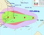 Áp thấp nhiệt đới mạnh thành bão số 9, tiếp tục mạnh lên