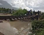 Nước xoáy trôi nền, đường sắt Bắc - Nam tê liệt