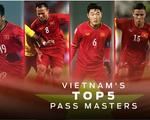 Ai là 'vua' chuyền bóng của tuyển VN ở vòng bảng AFF Cup?