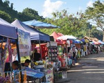 Hang Tham Luang thành điểm hút du khách