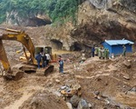 Mưa lớn đe dọa việc cứu hộ vụ sập hầm vàng