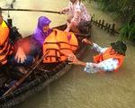 Nước dâng cao, bộ đội biên phòng vượt lũ cứu dân