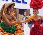 Hoa hậu Mỹ đùa cợt tiếng Anh của hoa hậu Việt H