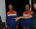 Ba ngư dân được cứu vẫn còn bàng hoàng vì tàu chìm quá nhanh