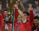 Khoảnh khắc tuyển VN nâng cúp vô địch AFF Cup 2018