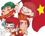 Dân mạng nhuộm đỏ mạng xã hội khi tuyển Việt Nam vô địch