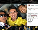 Bộ trưởng hot boy Malaysia vừa tới Hà Nội, lên instagram: